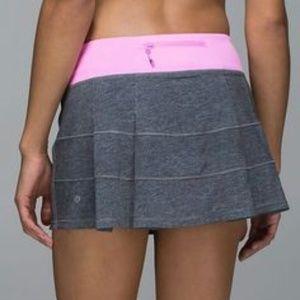 Lululemon Athletica Run Pace Rival Skirt Skort